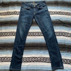 Agolde Chloe Skinny Medium Wash Midrise Jeans
